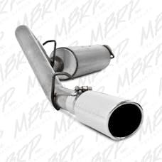 MBRP Exhaust S5500AL 2 1/2in. Cat Back; Single Side; AL