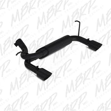 MBRP Exhaust S5528BLK 2 1/2in. Axle Back; Dual Rear Exit; BLK