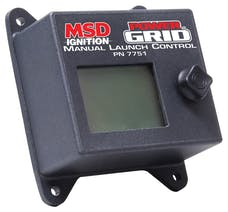 MSD Performance 7751 Power Grid Ignition System Manual Launch Control