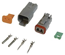 MSD Performance 8183 Connector Deutsch  2-Pin Connector Assembly