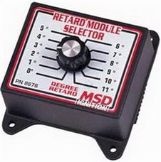 MSD Performance 8676 Selector Switch  0deg -11deg