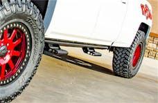 N-FAB C144RKRCC RKR Rails Step Systems Textured Black Cab Length