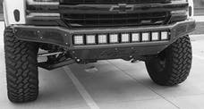N-FAB C161MRDS M-RDS Front Bumper Bumpers Gloss Black