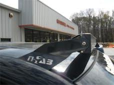 N-FAB C8850LR-TX Roof Mounts L.M.S. Textured Black 50 Series