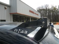 N-FAB C9949LR Roof Mounts L.M.S. Gloss Black 49 Series