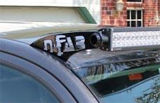 N-FAB D0949LR Roof Mounts L.M.S. Gloss Black 49 Series