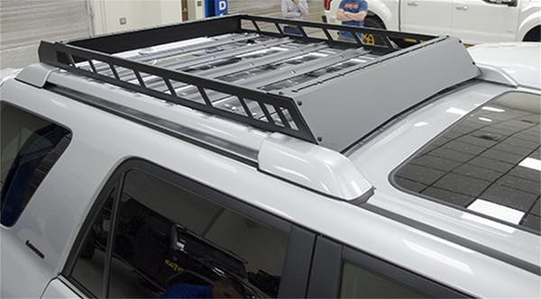 N-FAB T102MRF Roof Rack  Textured Black Aluminum Modular Roof Rack