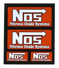 NOS 19230NOS Small Decal Sheet