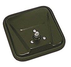 Omix-ADA 11002.01 Door Mirror Head; CJ-Style; Black; 55-86 Jeep CJ5/CJ6/CJ7/CJ8