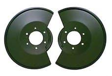 Omix-ADA 11212.02 Disc Brake Dust Shields; 78-86 Jeep CJ Models