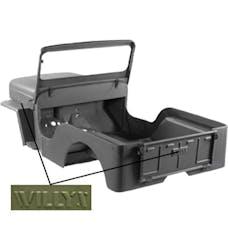 Omix-ADA 12001.20 Steel Body Kit; 42-43 Willys MB