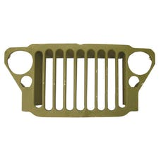 Omix-Ada 12021.99 Stamped 9 Slot Grille