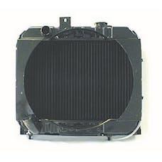 Omix-Ada 17101.01 Radiator 3 Core with Fan Shroud