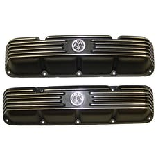 Omix-ADA 17401.10 Polished Valve Cover OMIX; 72-91 Jeep CJ/SJ Models