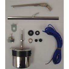 Omix-ADA 19101.03 Windshield Wiper Motor Kit, 12 Volt, Stainless Steel
