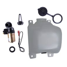 Omix-ADA 19107.03 OEM Washer Bottle Kit with Pump and Filter; 72-86 Jeep CJ Models
