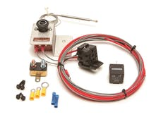 Painless 30104 Adjustable Fan Thermostat w/Relay