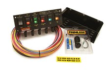 Painless 50305 6-Switch Rocker Circuit Breaker Panel