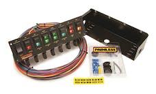 Painless 50306 8-Switch Rocker Circuit Breaker Panel