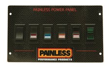 Painless 50430 Carbon Fiber Mustang Power Panel for 1987-93/Rocker