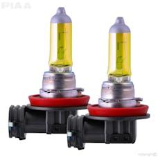 PIAA 22-13411 Solar Yellow Series Halogen Bulb (H16, Twin Pack)