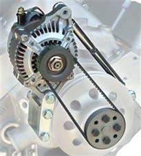 Powermaster 8-802 High Mount Racing Alternator Kit
