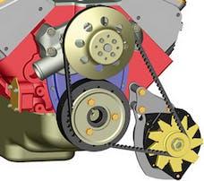 Powermaster 890 Chrome Low Mount Bracket