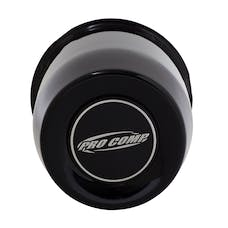Pro Comp Wheels 1330018 3.30 GLOSS BLACK CAP WITH PRO COMP LOGO