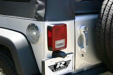 Rampage Products 85001 Billet Style Fuel Doors Polished