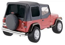 Rampage Products 68115 Complete Soft Top Kit Black Denim