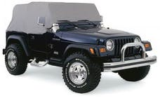 Rampage Products 1261 Cab Cover Grey