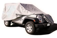 Rampage Products 1204 Custom Vehicle Cover Grey
