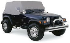 Rampage Products 1160 Cab Cover Grey