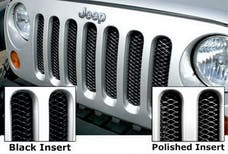 Rampage Products 86512 Single Piece 3D Grille; Gloss Black Powder Coat