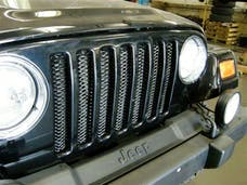 Rampage Products 86514 Single Piece 3D Grille