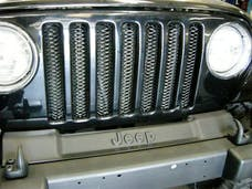 Rampage Products 86515 Single Piece 3D Grille