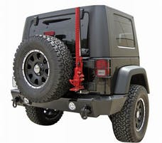 Rampage Products 88605 Rear Recovery Bumper Black