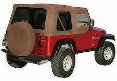 Rampage Products 99536 Factory Replacement Soft Top-Jeep Khaki