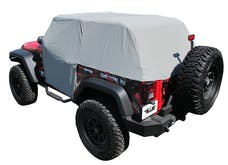 Rampage Products 1163 Cab Cover Grey