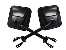 Rampage Products 7617 Side Mirror Set; Black Pair