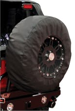 Rampage Products 783235 Tire Cover; Black Diamond; w/17 in. Window; 30-32 in