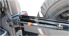 Rampage Products 86618 Rear Door Heavy Duty Gas Strut Stabilizer