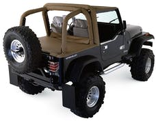 Rampage Products 769015 Roll Bar Pad & Cover Kit Black Denim