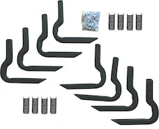 Rampage Products 14709 Side Bar Mounting Brackets