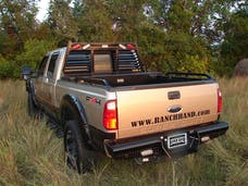 Ranch Hand BBF080BLSL Legend Back Bumper