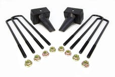 "ReadyLift 26-3204 Suspension Leaf Spring Block Kit, 4"" Rear"