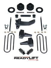 ReadyLift 69-2511TP 2.5'' SST Lift Kit with 5'' Rear Flat Blocks for 2 pc Drive Shaft without Shocks