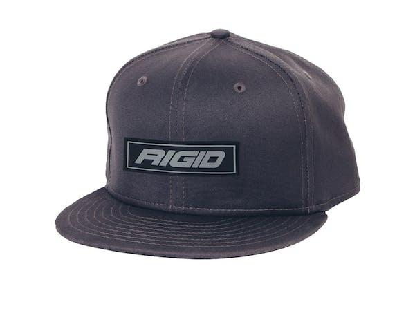 Rigid Industries 1032 HAT FLAT BILL RIGID PATCH GREY