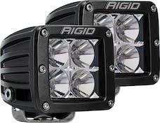 RIGID Industries 202123 D-Series Flood Surface Mount Amber pair