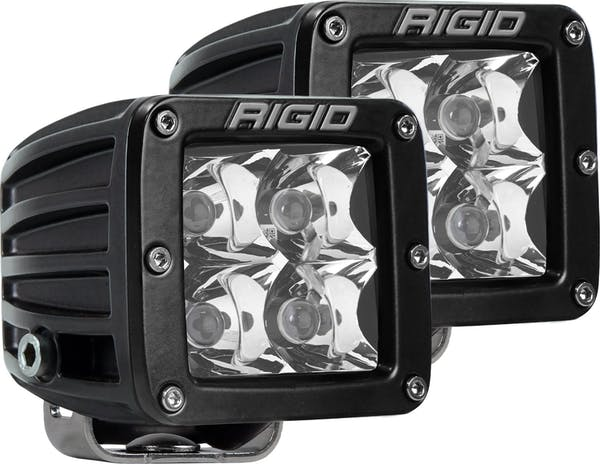 RIGID Industries 202213 D-Series PRO Spot LED Light, Surface Mount
